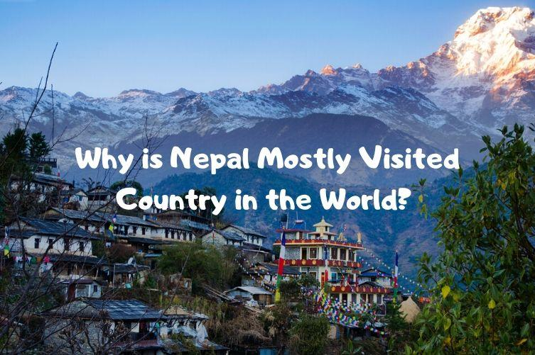 Nepal Mostly Visited Country